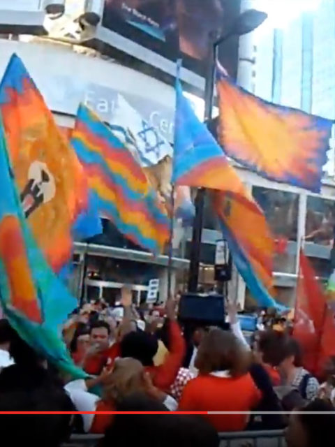 Worship Flash Mob – July 7, 2009